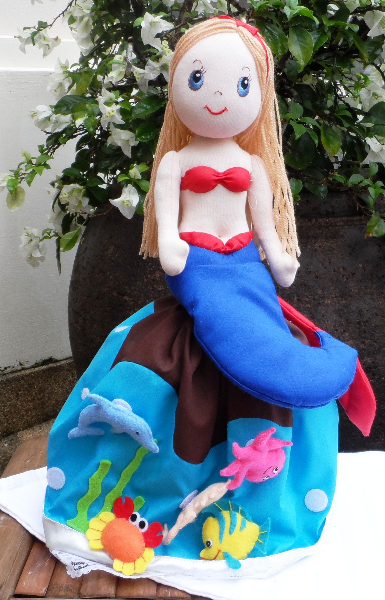 The Little Mermaid - 3 in 1 doll (Ariel)