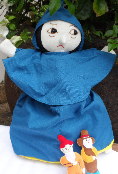 Sleeping Beauty - 3 in 1 doll (witch)