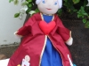 Alice in Wonderland - 3 in 1 doll (Queen of Hearts)