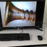 Using USB microscope to display image