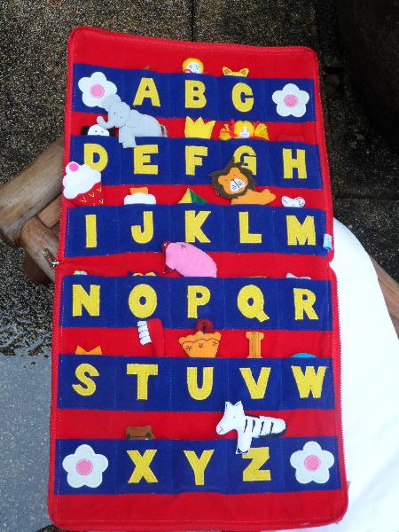 ABC Book - open